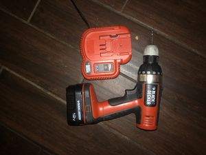 Black and decker cordless fire storm drill for Sale in Clarksville, TN