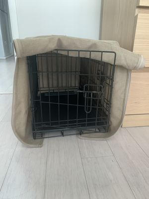 22inch crate, cover and mat set for Sale in Atherton, CA