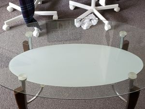 Glass coffee Table with Under Table for Sale in Everett, WA