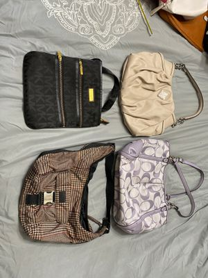 4 purses- Coach, Simply Vera, Ralph Lauren and Michael Kors for Sale in Las Vegas, NV