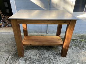 West Elm kitchen island/dining table for apartment living for Sale in Portland, OR