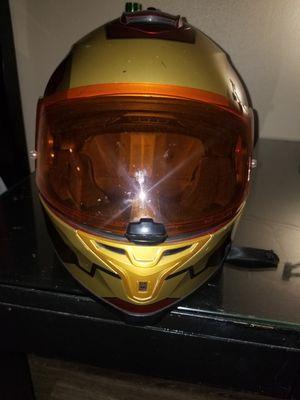 HJC Marvel IS-17 Ironman MC1 Full Face Street Helmet size L, DOT approved for Sale in Pasadena, CA