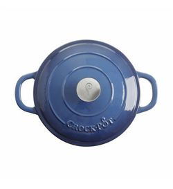 Crock-Pot   Dutch Oven, 5-Quart   Sapphire Blue for Sale in Brooklyn,  NY