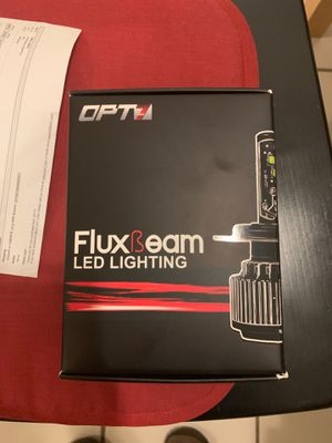 Brand new never used fluxbeam LED car lights for Sale in San Diego, CA