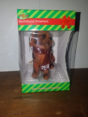 Used, Dachshund ornament for Sale for sale  Easton, PA