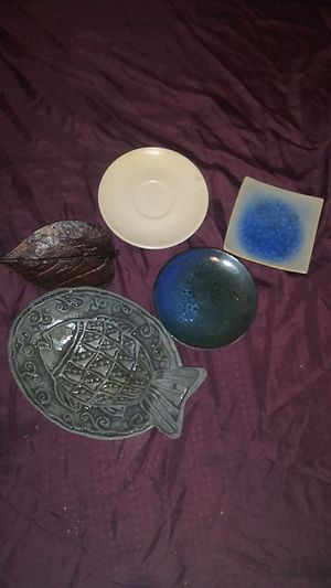 Decorative plates / candle or cone incense holder for Sale in Palos Hills, IL