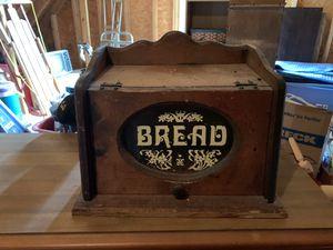 Old bread box great condition for Sale in Smyrna, TN