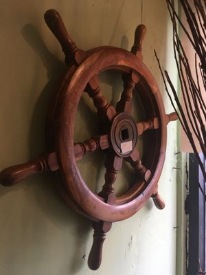 Antique vintage ships wheel nautical $75.24 inches diameter for Sale in San Diego, CA