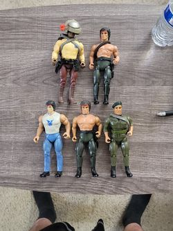5 1980s Rambo Figures for Sale in Des Moines,  WA