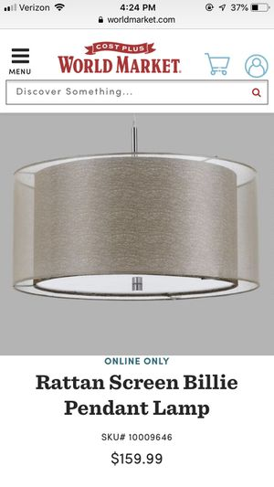 New pendant light for dining room for Sale in Fairfax, VA