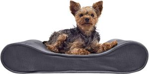 Furhaven Pet - Plush Orthopedic Sofa, L-Shaped Chaise Couch, Ergonomic Contour Mattress, & Long Faux Fur Calming Donut Dog Bed for Dogs & Cats for Sale in Tinley Park, IL