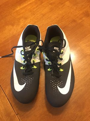 Nike Rival S size 10.5 unisex metal spike track shoes for Sale in Scottsdale, AZ