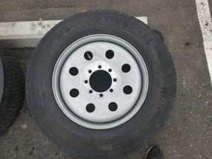 """19.5"""" x 6.75"""" Bare Steel Wheel(2) for Sale in Littleton, CO"""