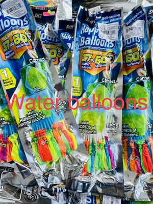 WATER BALLOONS 💦💦💦🎈🎈🎈 for Sale in Long Beach, CA