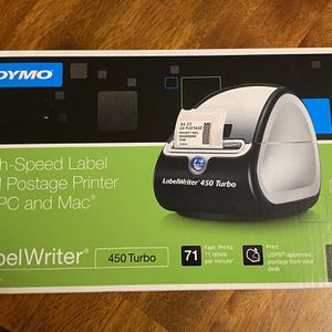 New Dymo Labewriter 450 Turbo label writer for Sale in Lakewood, WA