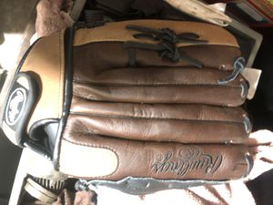 Rawlings leather softball glove for Sale in Fresno, CA