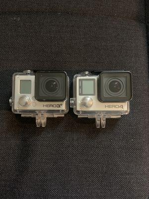 2 GOPRO HERO 4. HERO 3 for Sale in San Francisco, CA