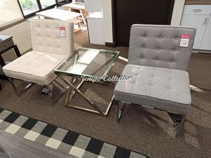 3 PC Set Accent Chair and End Table, SKU# A3000110/1TC for Sale in Santa Fe Springs, CA