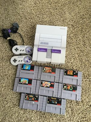 Super Nintendo and Games for Sale in Rosedale, MD