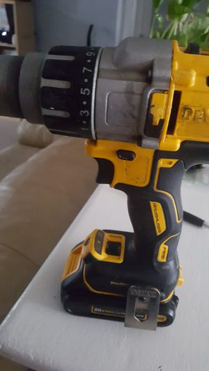 Dewalt 20v max hammer and drill with battery and charger for Sale in Bensenville, IL