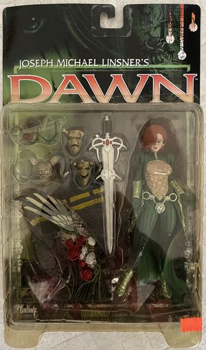 NEW 1999 Mcfarlane Toys Joseph Michael Linsner's Dawn Action Figure MOC for Sale in Santa Ana, CA
