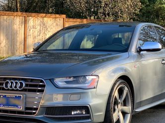 2014 AUDI S4 Premium Plus Low Miles Clean Title for Sale in Tigard,  OR