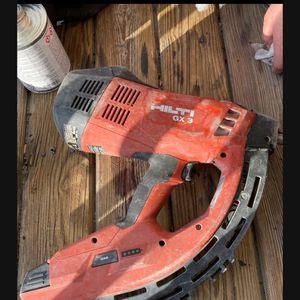 Hilti Gx3 Concrete Nailer for Sale in Revere, MA
