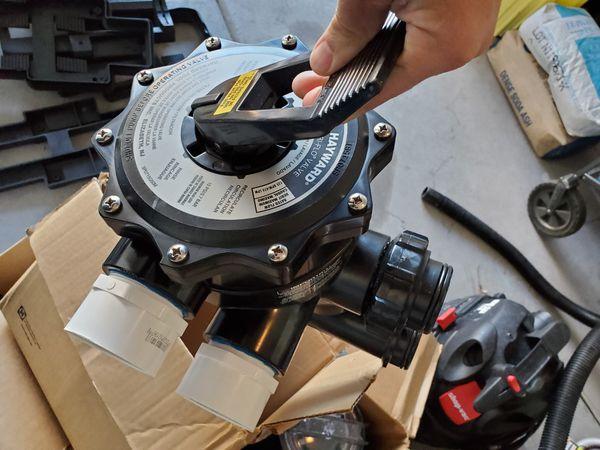 """2"""" Hayward multiport valve for DE filter"""