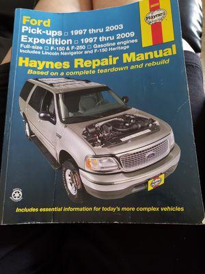 Haynes manual FORD for Sale in Prattville, AL