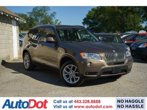 2012 BMW X3 for Sale in Sykesville, MD