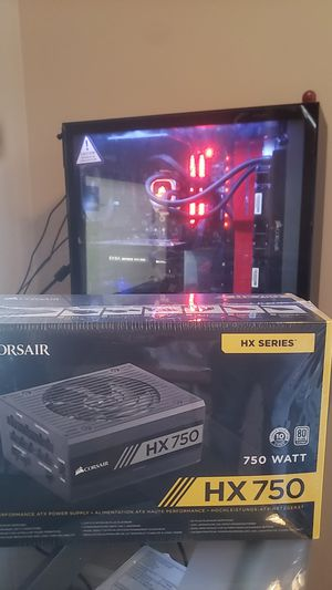Gaming computer part - Unopened HX750w fully modular psu for Sale in Nashville, TN
