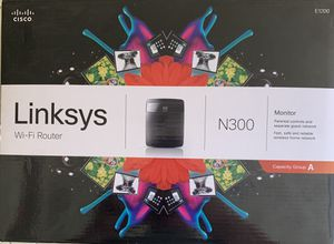 Linksys Wi-Fi Router N300 for Sale in Chico, CA
