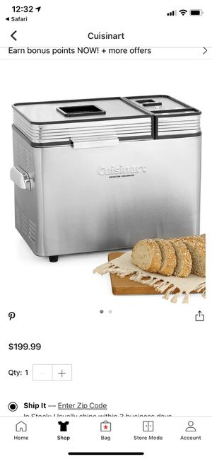 Cuisinart !! Convention bread maker !! for Sale in Las Vegas, NV