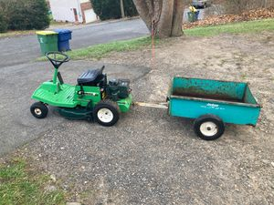 Bolens garden tractor and trailer for Sale in Waterbury, CT