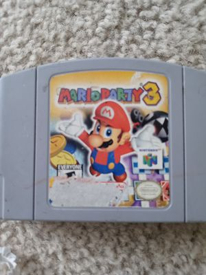 Mario party 3 for Sale in Denver, CO
