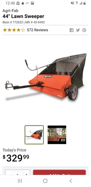 AGRI-FAB Lawn Sweeper for Sale in Mokena, IL