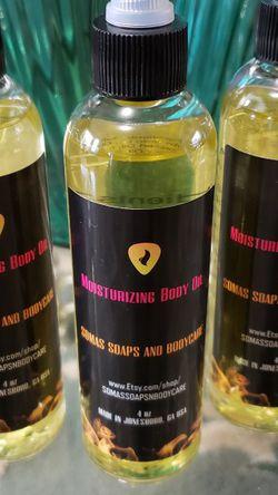Scented Moisturizing Body Oil (For Men) for Sale in Jonesboro,  GA