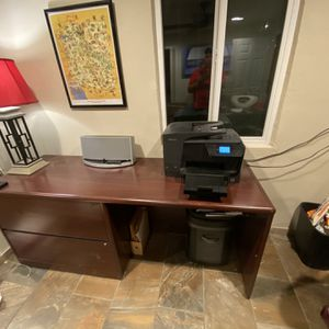Free Free Free Desk And Cradenza for Sale in Phoenix, AZ