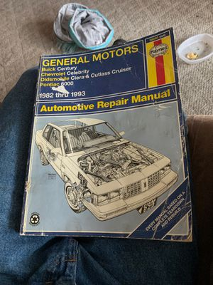 General motors repair manual for Sale in Knoxville, TN