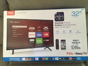 32' TCL Roku tv for Sale in Lansing, MI