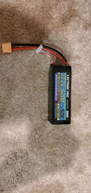 Lectron Pro 5200mah 6s 50c lipo battery for Sale in Laurel, MD