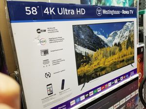 """58"""" LED SMART 4K ULTRA HDTV BY Westinghouse. 1 year WARRANTY for Sale in Los Angeles, CA"""