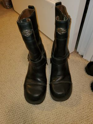 Harley Davidson womens motorcycle boots for Sale in Vancouver, WA
