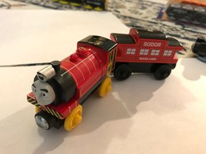 Thomas and his Friends. Wooden Railway Tank Engine - VICTOR AND SODOR LINE CABOOSE for Sale in New York, NY