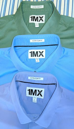 Express Extra Slim Fit Dress Shirts (Set of 3) for Sale in Mission Viejo, CA
