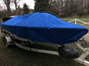 Heavy duty Boat cover Taylor made for Sale in Grayslake, IL