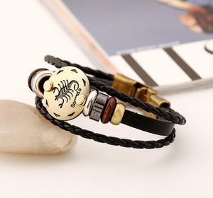 12 Constellations Multilayer Leather Bracelet, Scorpio for Sale in Irvine, CA