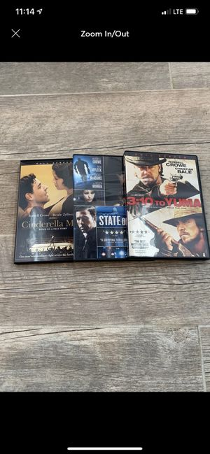 Russell Crowe DVD's for Sale in East Providence, RI