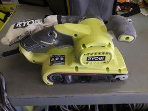 RYOBI 6 Amp Corded 3 in. x 18 in. Portable Belt Sander for Sale in Fresno, CA