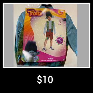 Halloween Costume - Branch Trolls Size 4-6 for Sale in Anaheim, CA